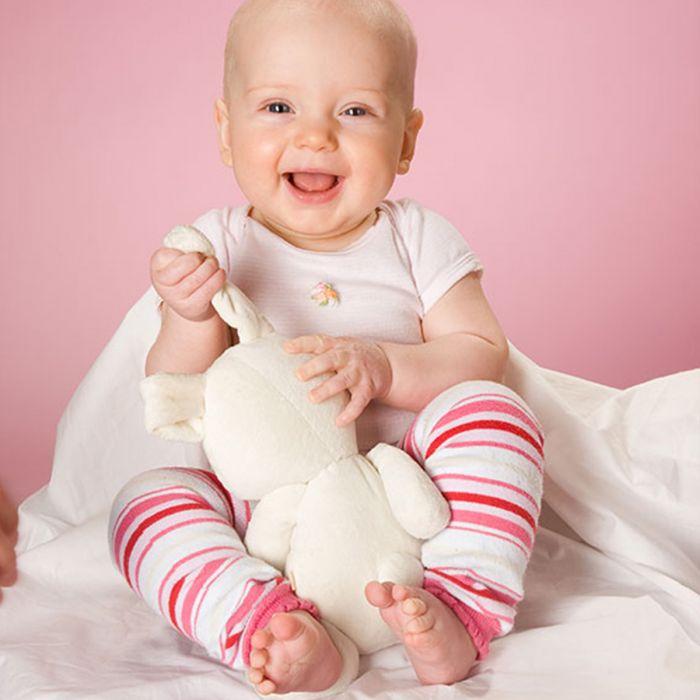Hoppediz uni schwarz Babystulpen von 0-ca.3 Jahre 80/% Bio kbA Baumwolle