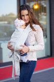 Limas Babytrage Blanca_
