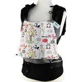Buzzidil Preschooler  Panda Love Gray | Fullbuckle Kindertrage & Wandertrage (92-116)_