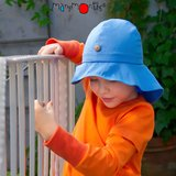 ManyMonths Summer Hat Light (Mütze) - Big Dots Turquoise_