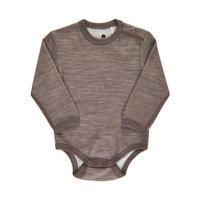 CeLaVi Langarm-Body Wolle/Bambusviskose Acre