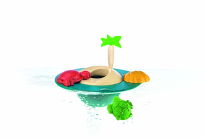 Badewannen- Spielinsel