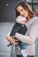 Limas Babytrage schwarz/grau