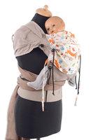 Huckepack Wrap Tai Baby Füchse