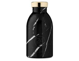 24 Bottles Thermosflasche Clima 0.33 l Black Marble
