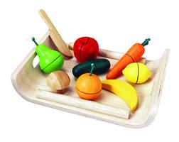 Assortierte Früchte und Gemüse