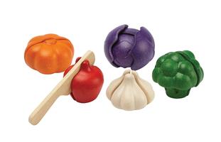 5-farbiges Gemüseset
