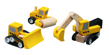 Plantoys Plan World Baufahrzeuge