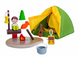 Plantoys PlanWorld Camping Set