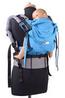 Huckepack Fullbuckle Medium blau