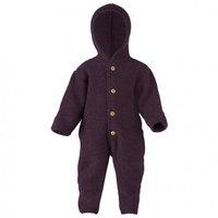 Engel Baby-Overall Wollfleece Lila Melange