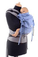 Huckepack Halfbuckle Traghilfe baby hellblau/grau