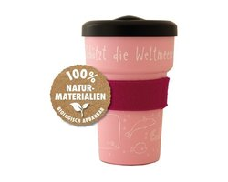 Emil Cup to go Kaffeebecher rosa