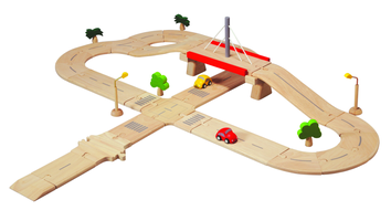 Plan Toys PlanWorld Strassenset Deluxe