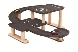 Plan Toys Race N Play Parking Garage