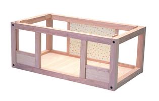 Plan Toys Erdgeschoss zu erstes Puppenhaus