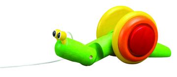 Plan Toys Nachzieh-Schnecke