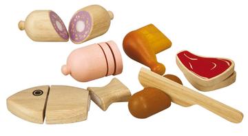 Plan Toys Fleisch und Fisch Set