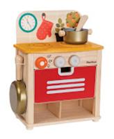 Plan Toys Kochherd mit Zubehör