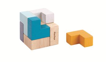 Plan Toys 3D Puzzle Cube