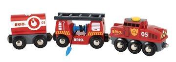BRIO Eisenbahn Feuerwehr Löschzug