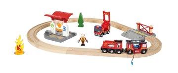 BRIO Eisenbahn Feuerwehr Set