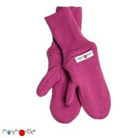 Manymonths Woll-Handschuhe Frosted Berry