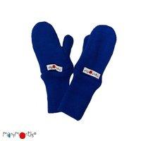 Manymonths Woll-Handschuhe Jawel Blue