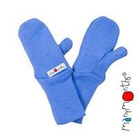 Manymonths Woll-Handschuhe Provance Blue