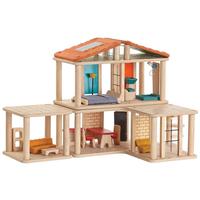 Kreatives Puppenhaus komplett