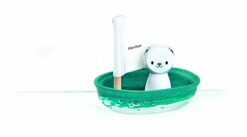 Segelboot - Eisbär