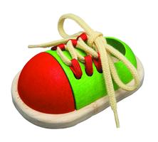 Bind den Schuh
