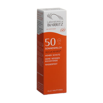 Algamaris Sonnencreme LSF 50 ohne Parfum Dispenser 100ml