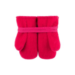PurePure Handschuhe Feustel himbeere Wolle