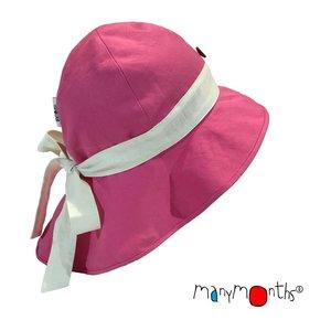 ManyMonths Adjustable Summer Hat mit Schleife pink