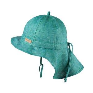 PurePure Mütze mit Mini Nackenschutz pine green
