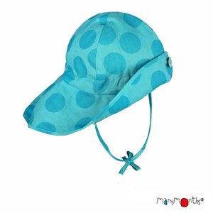 ManyMonths Summer Hat Light (Mütze) - Big Dots Turquoise
