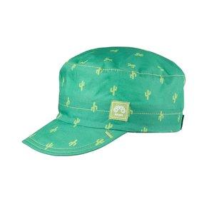PurePure Mini Schirmmütze pine-green Kaktus