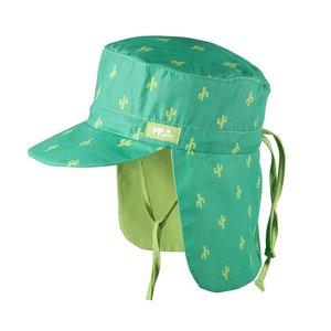 PurePure Mütze mit Mini Nackenschutz pine-green Kaktus